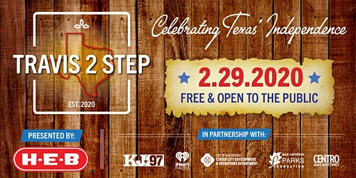 Travis 2 Step: A  Festival Celebrating Texas Independence Day
