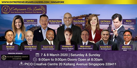 Business & Leadership Summit - Entrepreneurs Are Leaders  7&8 March 2020 tickets