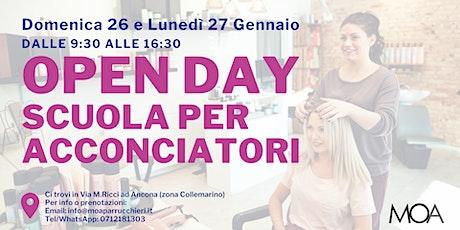Open Day - Scuola per Parrucchieri MOA biglietti