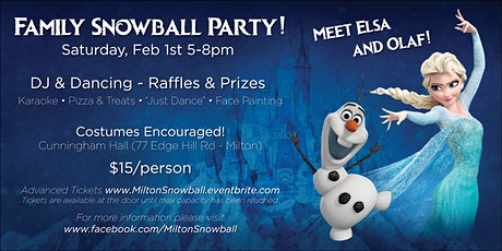 Family Snowball Dance Party tickets