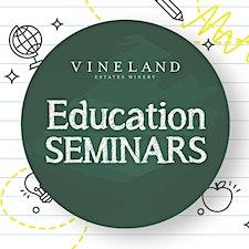 VEW Education Seminars *Wine Club Exclusive* logo