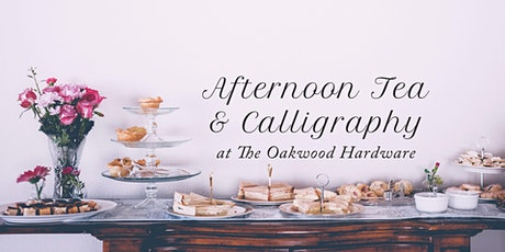 Afternoon Tea & Calligraphy Workshop tickets