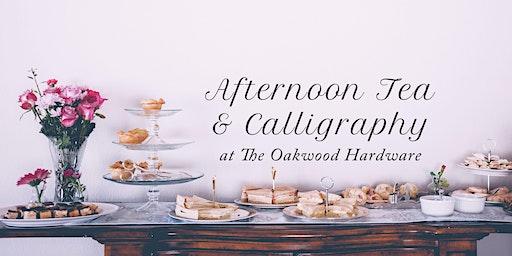 Afternoon Tea & Calligraphy Workshop