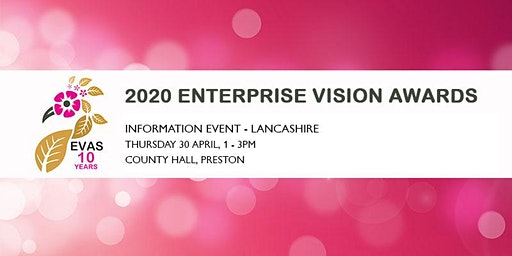 Free 2020 Enterprise Vision Awards Information Event 'Lancashire'
