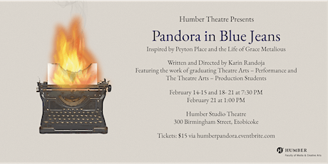 Pandora in Blue Jeans Presented by Humber Theatre tickets