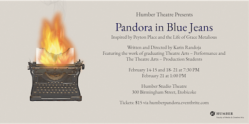 Pandora in Blue Jeans Presented by Humber Theatre