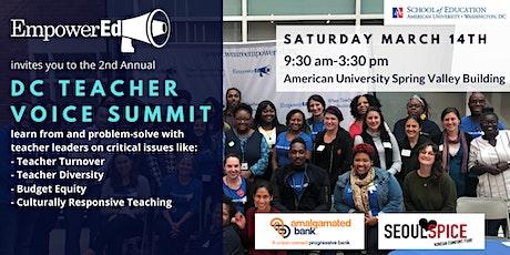 DC Teacher Voice Summit by EmpowerEd tickets