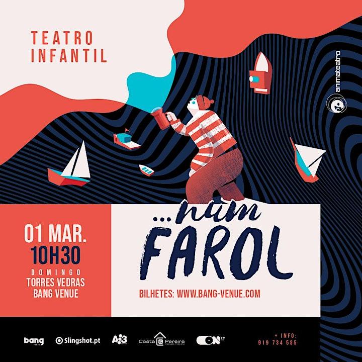 imagem Teatro Infantil | ...Num Farol | Bang Venue