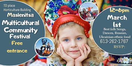 Maslenitsa Multicultural Spring Festival of Eastern Slavic people tickets
