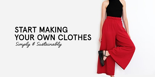 Beginners Sewing Class: The Pants