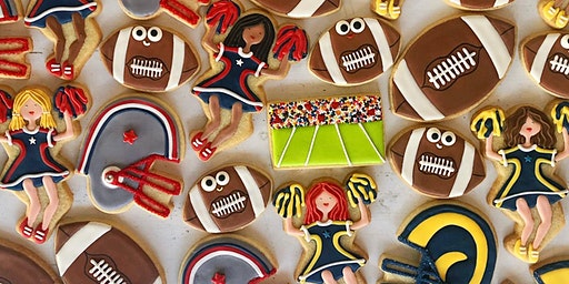 Super Bowl Cookie Decorating Workshop for Kids and Adults