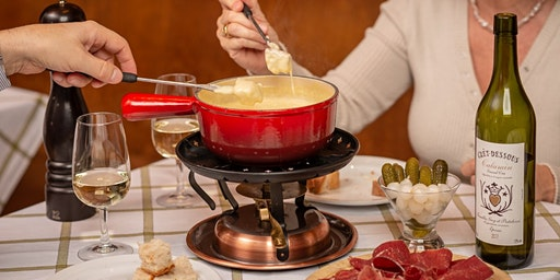 Traditional Cheese Fondue Dinner, Lausanne February 20, 2020