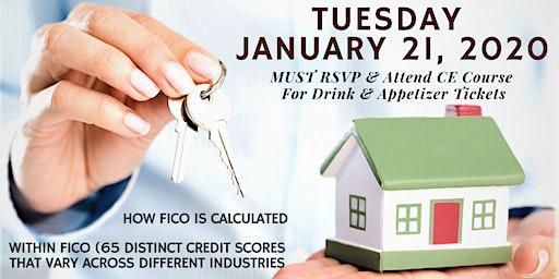 Realtors CE Credit Social & Learn on Mortgage Credit Scoring