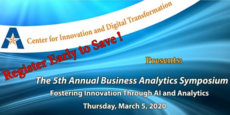 Fifth Annual Business Analytics Symposium tickets