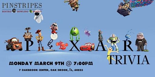Disney Pixar Trivia at Pinstripes Oak Brook