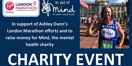 Ashley Dunn's London Marathon Charity Event tickets