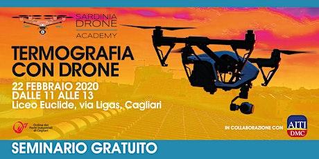 Termografia con Drone APR - Seminario gratuito biglietti