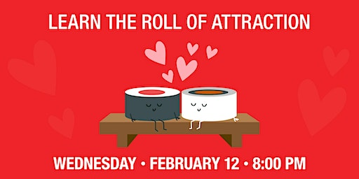 RA Sushi (Mesa) Roll of Attraction: A Couples Sushi Rolling Class