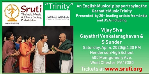 """""""Trinity"""" a Carnatic Musical Play in English"""
