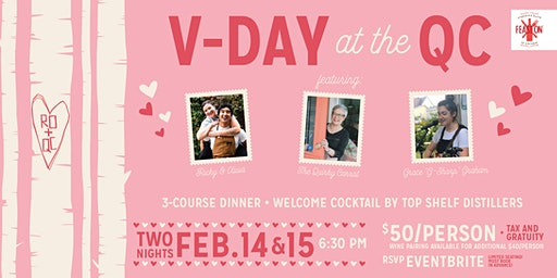 V-Day at the QC