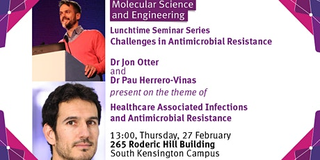 Healthcare Associated Infections and Antimicrobial Resistance tickets