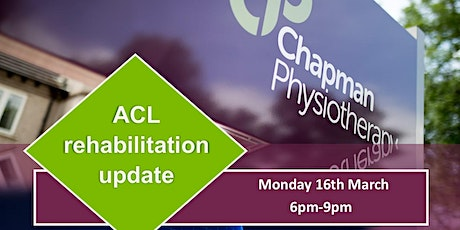 ACL Rehabilitation Update tickets