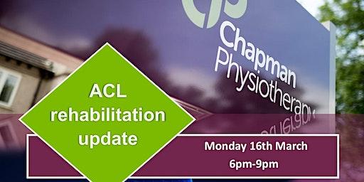 ACL Rehabilitation Update