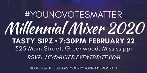 #YoungVotesMatter Millennial Mixer 2020