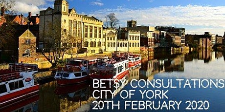 Beautiful Betsy Consultations * York* 20th February 2020 tickets