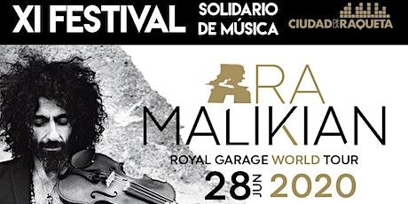 Ara Malikian + Elixir de juventud en Madrid entradas