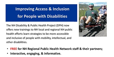 Improving Access & Inclusion for People with Disabilities tickets