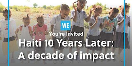 Haiti: A Decade of Impact tickets