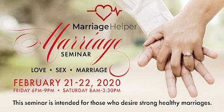 Marriage Seminar - Love • Sex • Marriage | February 21-22 | Georgetown, DE tickets