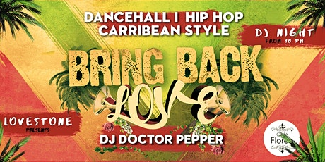 Reggae Bring Back Love billets