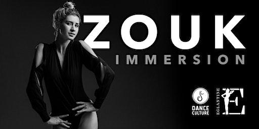 Zouk Immersion workshops with Eglantine Oliveira from Brazil