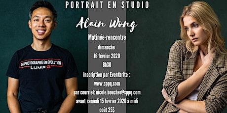 Conférence sur le portrait en studio avec Alain Wong, Ambassadeur Panasonic tickets