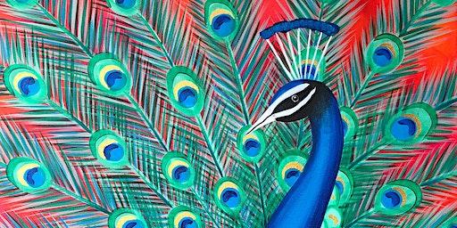 Peacock Parade Brush Party – Wantage