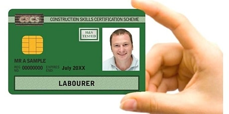 Free CSCS Course including the 5 year CSCS card worth £245.00 tickets