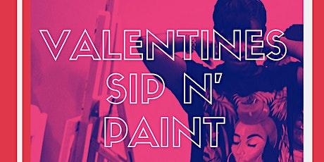 Annettes Art: Valentines Sip N' Paint tickets