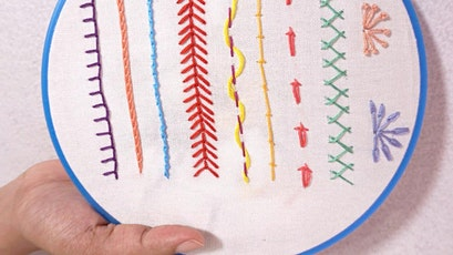 Beginners Hand and Free Machine Embroidery tickets