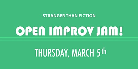 Improv Open Jam! March 5th tickets
