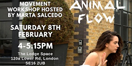 Introduction to Animal Flow - A Movement Workshop with Marta Salcedo tickets