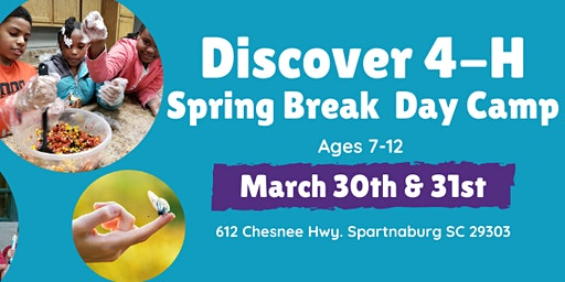 Discover 4-H Spring Break Day Camp
