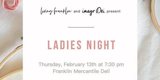 Living Franklin & Imago Dei Ladies Night