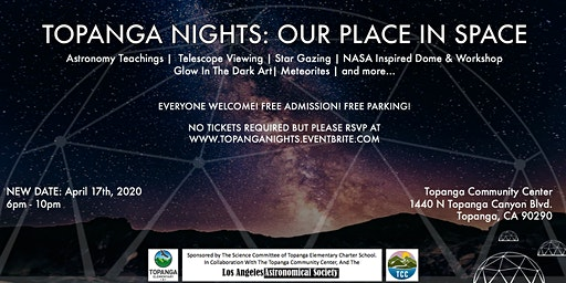 TOPANGA NIGHTS : OUR PLACE IN SPACE (take 2)