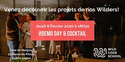 Demo Day & Cocktail de clôture - Wild Code School Biarritz