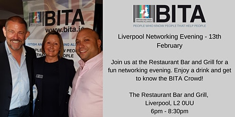 Liverpool Networking Event - 13th February tickets