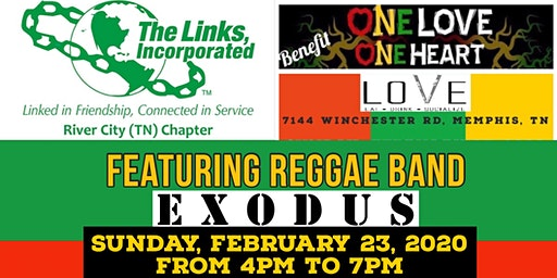 One Love, One Heart Reggae Benefit Concert presented by the River City Chapter of The Links, Incorporated