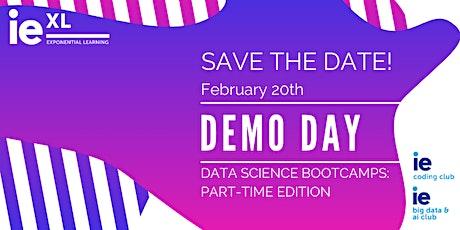 Data Science Bootcamp Demo Day entradas
