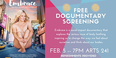 EMBRACE Documentary Screening tickets